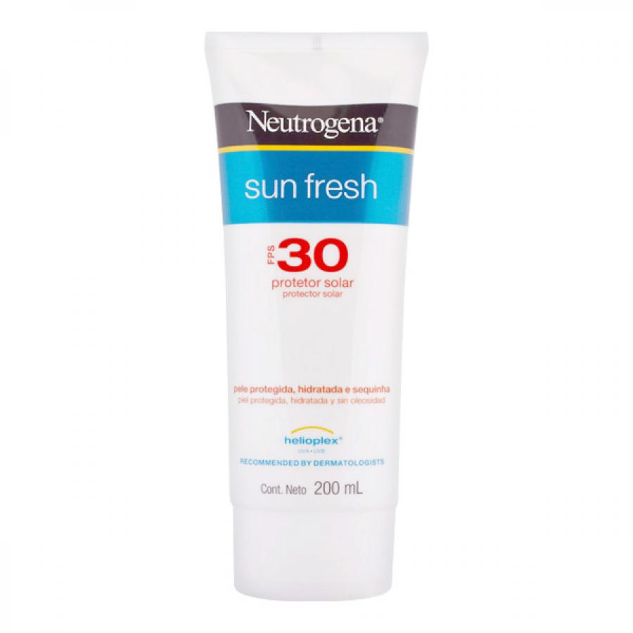 Neutrogena Sun Fresh FPS 30 Loção 200ml VAL 08/2020