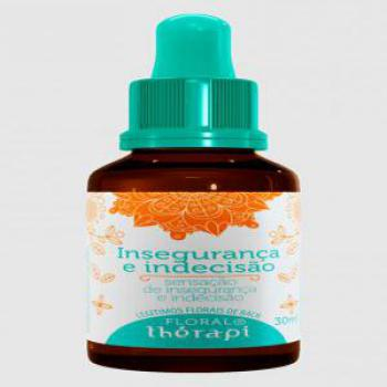 FLORAL THERAPI INSEGURACA INDECISAO 30ML