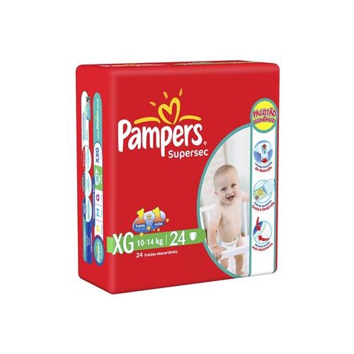 FR PAMPERS SUPERSEC PCTAO XG C/22
