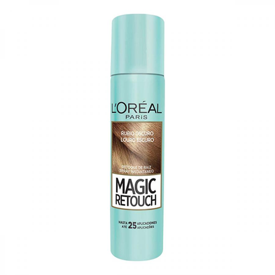 SPRAY RETOQUE DE RAIZ LOREAL MAGIC RETOUCH LOURO ESCURO 75ML