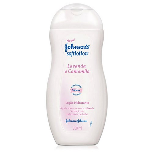 Hidratante Softlotion Lavanda E Camomila 200ml