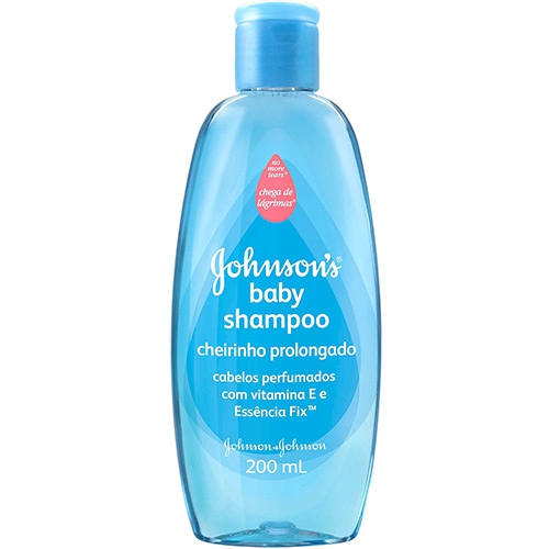 Shampoo Infantil Johnsons & Johnsons Cheiro Prolongando 200ml