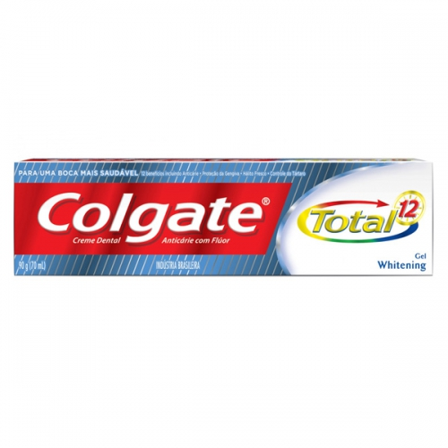 Creme Dental Colgate Total Whitening 90g