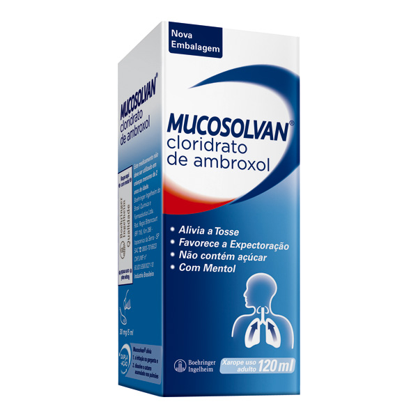 Mucosolvan 6mg/mL 1 frasco com 120mL