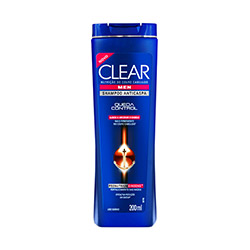 Shampoo Clear Anticaspa Queda Control Men 200ml