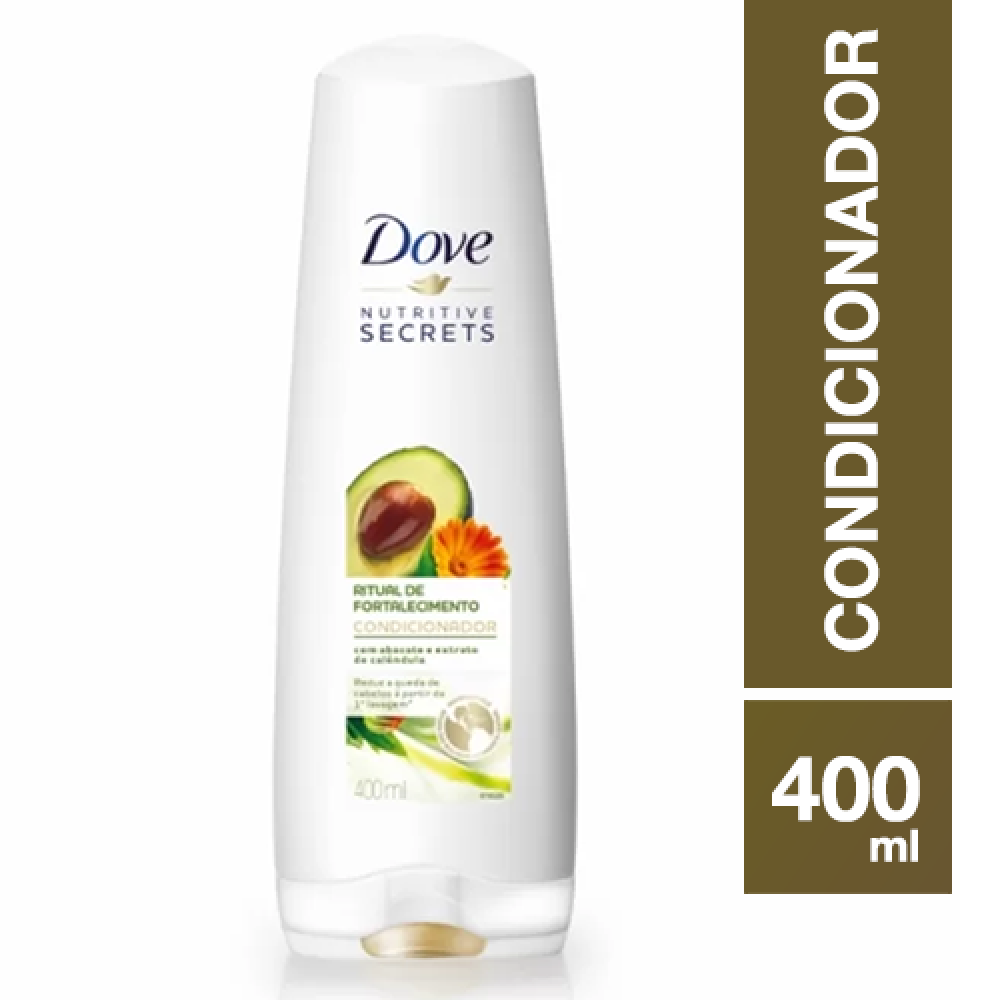 Condicionador Dove DETOX 400ml