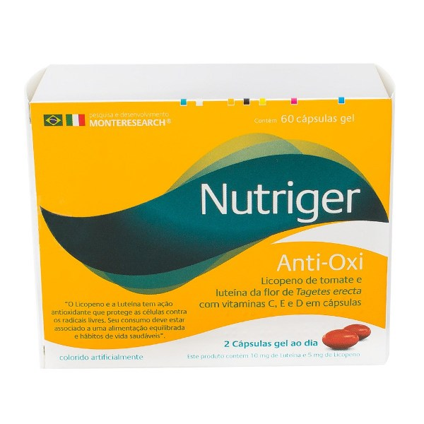 NUTRIGER ANTI OX CAPS.C/60