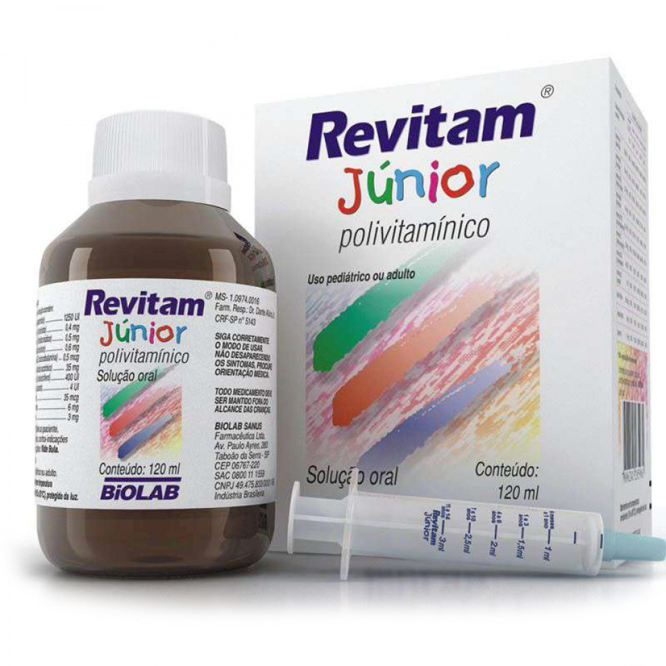 Revitam Júnior 1 frasco com 120mL