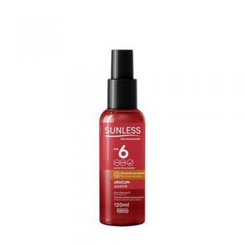 Bronzeador Sunless Fps06 120ml Urucum