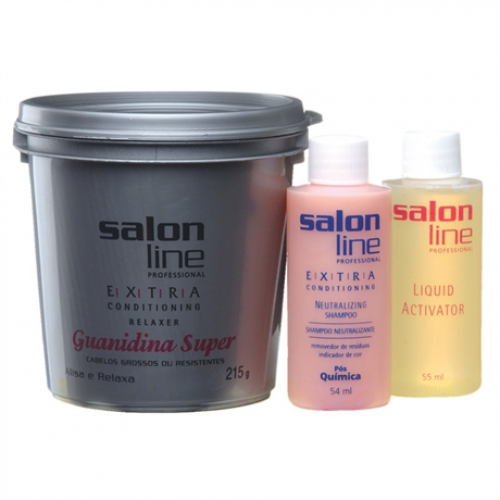 Kit Relaxante Salon Line Guanidina Super