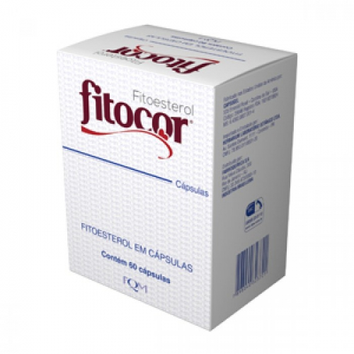 Fitocor 650mg com 60 Cápsulas