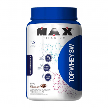 MAX TITANIUM TOP WHEY 3W+PERFOR 900G CHOCOLATE