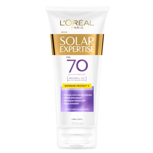 Protetor Solar Loreal Expertise Supreme FPS70 200ml