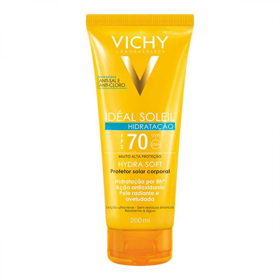 IDEAL SOLEIL VICHY HYDRASOFT FPS70 200ML