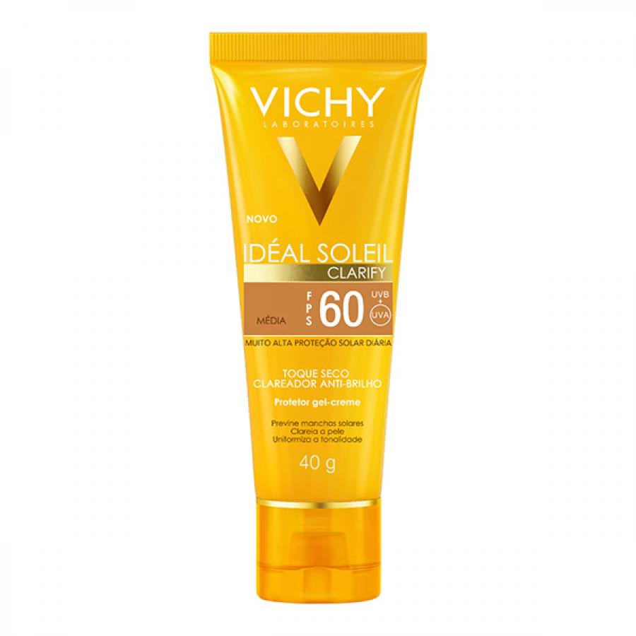IDEAL SOLEIL VICHY CLARIFY TOQUE SECO MED FPS60 40