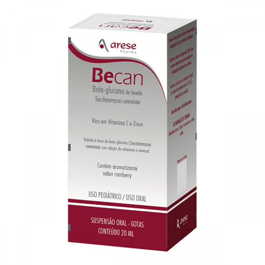 Becan frasco com 20mL